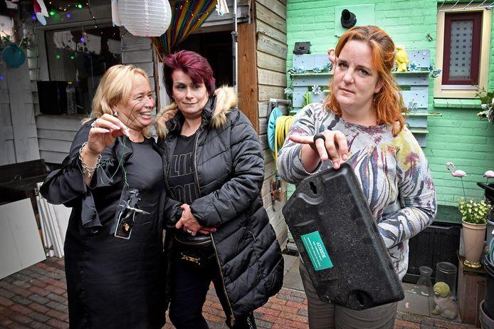 Miranda, Eline en Astrid klagen over rattenoverlast in hun woningen aan de Nijmeegse Lingestraat. Archieffoto