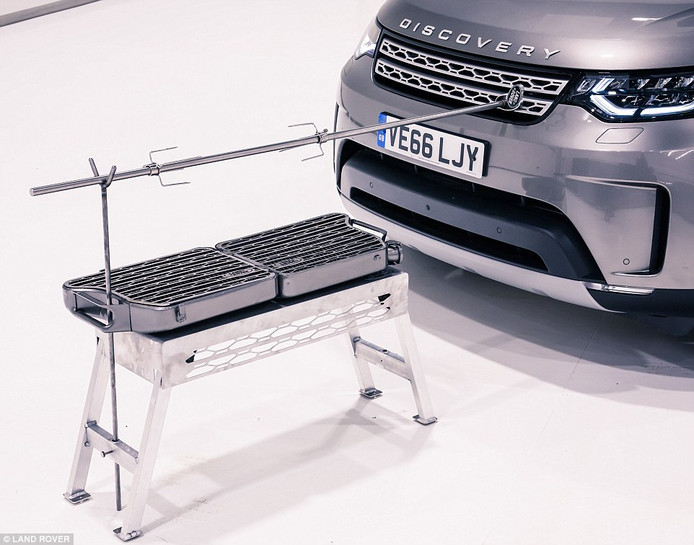De exclusieve barbecue van Land Rover