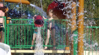Waterpretparken doen goede zaken met deze hitte