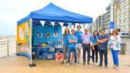 Vier jobstudenten houden strand deze zomer afvalvrij