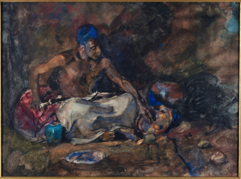 George Hendrik Breitner, Adolphe Boutard als Arabier (1883).