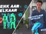 Jumbo gebruikt hologrammen om maatregelen duidelijk te maken