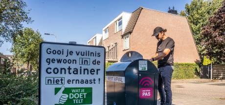 Arnhemse buurt houdt afvaldumpers zelf maar bij de les