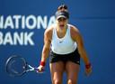 Kiki Bertens verloor in de derde ronde van de Rogers Cup van Bianca Andreescu.