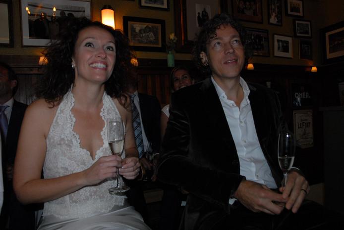 Suzanne Drost en Sander van der Hoeven zijn na ruim elf jaar huwelijk nog altijd dol op elkaar.
