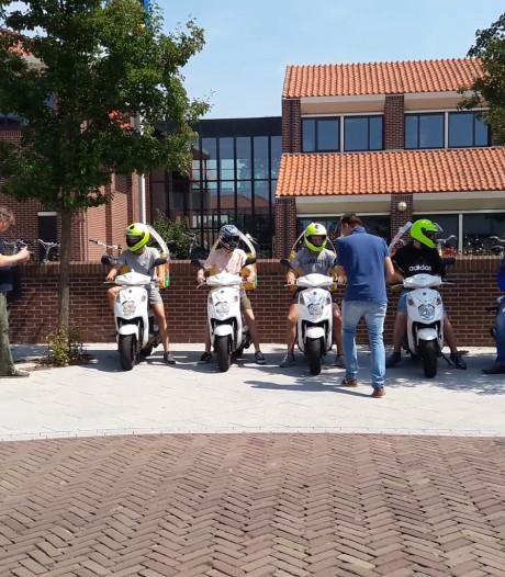 Pizzakoeriers Harderwijk leren rijden zonder ergernis op te roepen