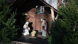 Jozef terug op post in kerststal