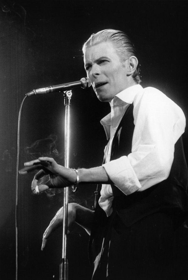 Bowie als de 'Thin White Duke' Beeld