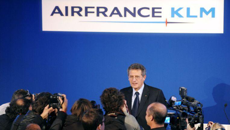 Air France-KLM directeur Jean-Cyril Spinetta © afp Beeld