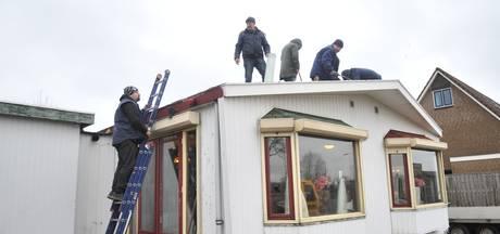 Buurt in actie voor woonwagenfamilie zonder dak