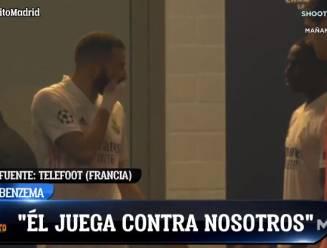 """Zidane: """"Dat tussen Benzema en Vinícius? Goed dat zo'n dingen gebeuren. Dat betekent dat we leven"""""""