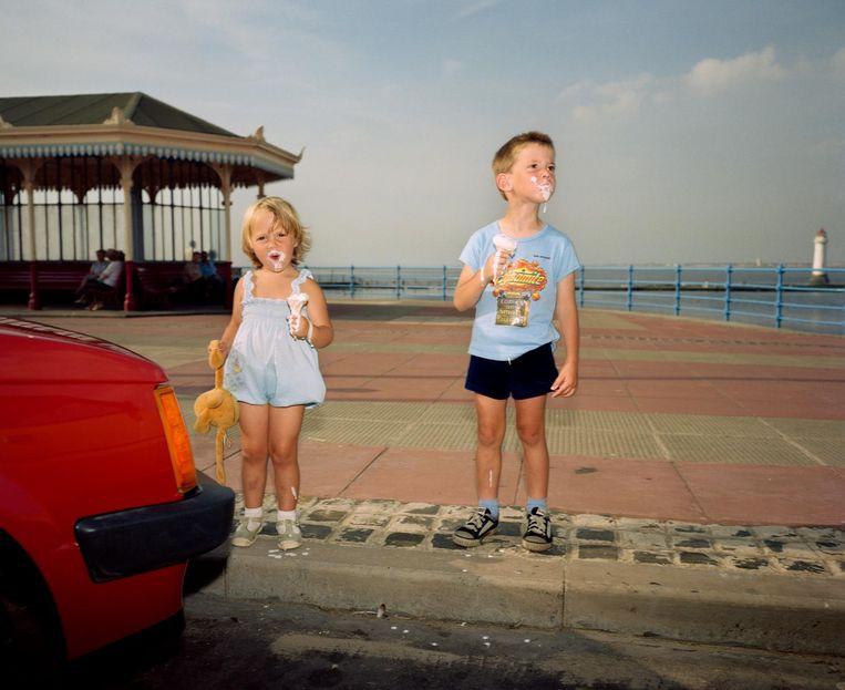 New Brighton, uit The Last Resort, 1983-85. Beeld Martin Parr / Magnum Photos