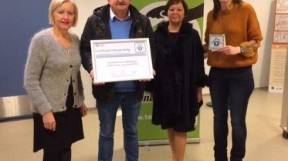 Taverne De Kroon ontvangt als eerste Belgische handelszaak het Certificaat Inbraak Veilig