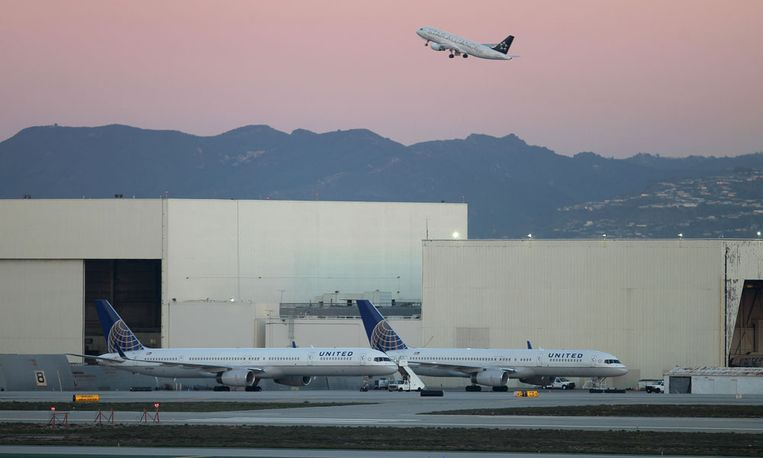 Los Angeles International Airport Beeld afp