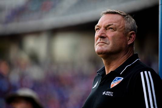 Ron Jans is sinds augustus trainer bij FC Cincinnati.