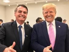 """Trump: """"Bolsonaro fait un très bon boulot pour le peuple brésilien"""""""