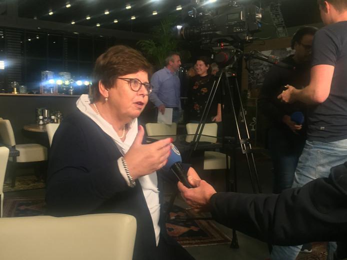 Burgemeester Marina van der Velde.