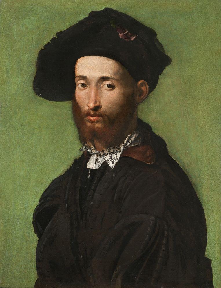 Campi, 'Portret van een heer in het zwart', ca. 1530 Beeld TR Beeld