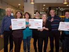 Huurdersvereniging Waalwijk pakt uit: 22.000 euro aan goede doelen