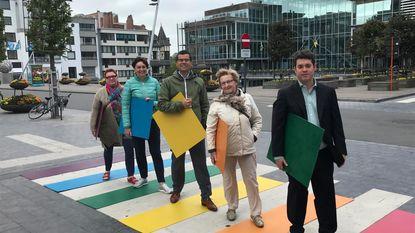 Lokale N-VA pleit voor permanent regenboogzebrapad