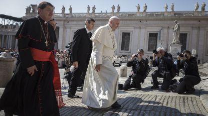 """Paus vergelijkt abortus met huurmoord: """"Een zwangerschap beëindigen, is net zoals iemand elimineren"""""""