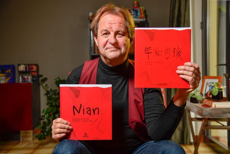 Zijn boek is ook in China uitgebracht en scoort daar al goed.
