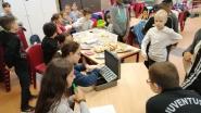 Basisschool 't Krekeltje zamelt 566 euro in voor Rode Neuzen Dag