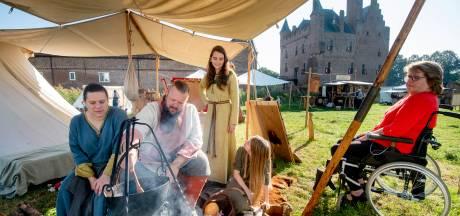 Doornenburg bezet door vrolijke Vikingen