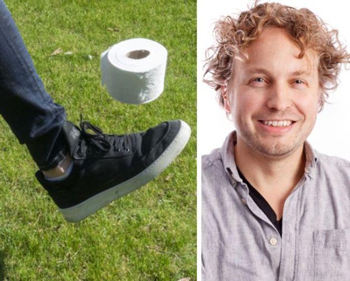 Sporten, musiceren, gebruiken als rekwisiet: met toiletrollen kun je álles, zag columnist Niels Herijgens.
