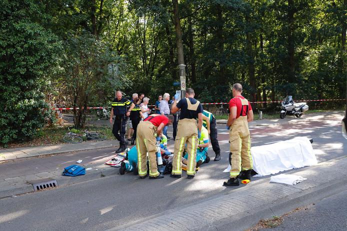 Drie gewonden bij ongeluk in Eindhoven.