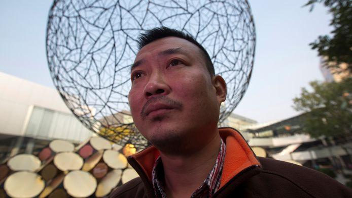 De 43-jarige Yin Yusheng vraagt lezers die 'moe zijn van de lofzang die wordt gezongen door de staatsmedia' geld te doneren.