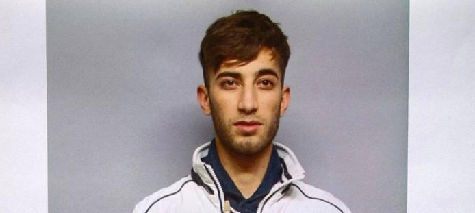 Ali Bashar wordt gezocht voor de moord op Susanna. De Duitse politie heeft deze foto vrijgegeven.