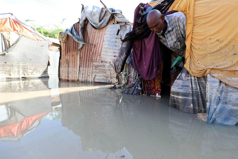 Zware overstromingen in Somalië.