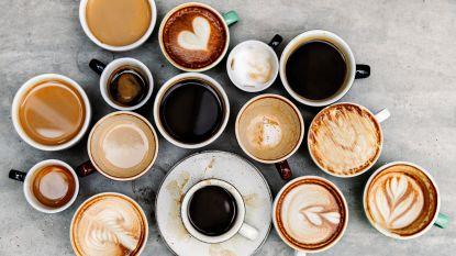 """Britse studie: """"25 koppen koffie per dag? Kan geen kwaad"""""""