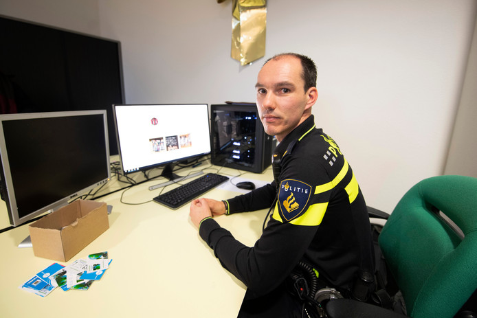 Remco Aagtjes, operationeel specialist bij de politie Oost-Nederland.