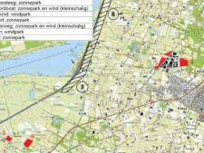 Plannen ingediend voor vijf zonneparken in Putten en windmolens langs de A28
