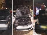 Drukke nacht voor de brandweer: drie autobranden in Zwolle