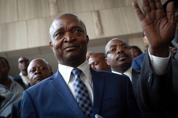 Kabila's protegé en door hem beoogde opvolger Emmanuel Ramazani Shadary.