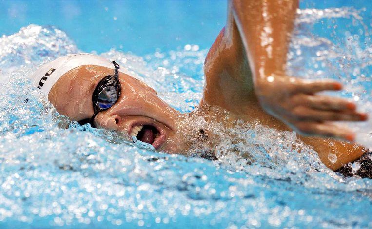 Zwemster Van Rouwendaal. Beeld anp