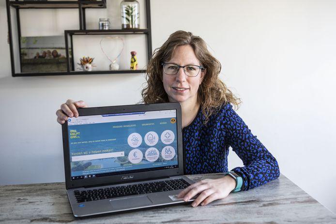 Ilse Brummelhuis van Ons Helpt Ons Oldenzaal.