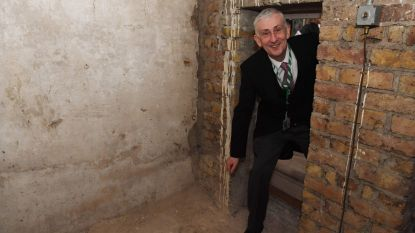 Geheime doorgang Brits parlement leidt naar 169 jaar oude graffiti