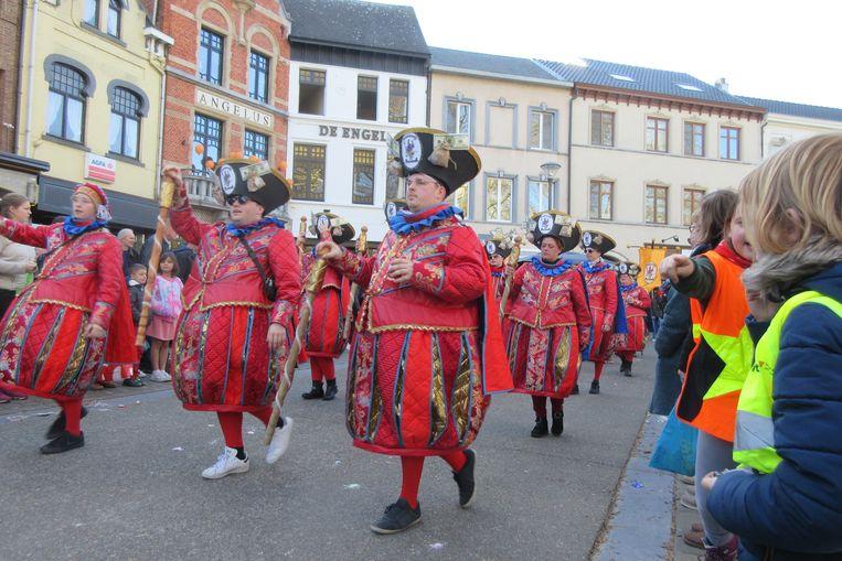 De Aalsterse dansers van Pertotal.