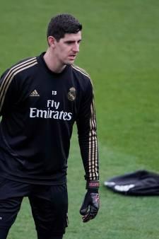 """Thibaut Courtois: """"Je veux écrire une page d'histoire avec le Real Madrid"""""""