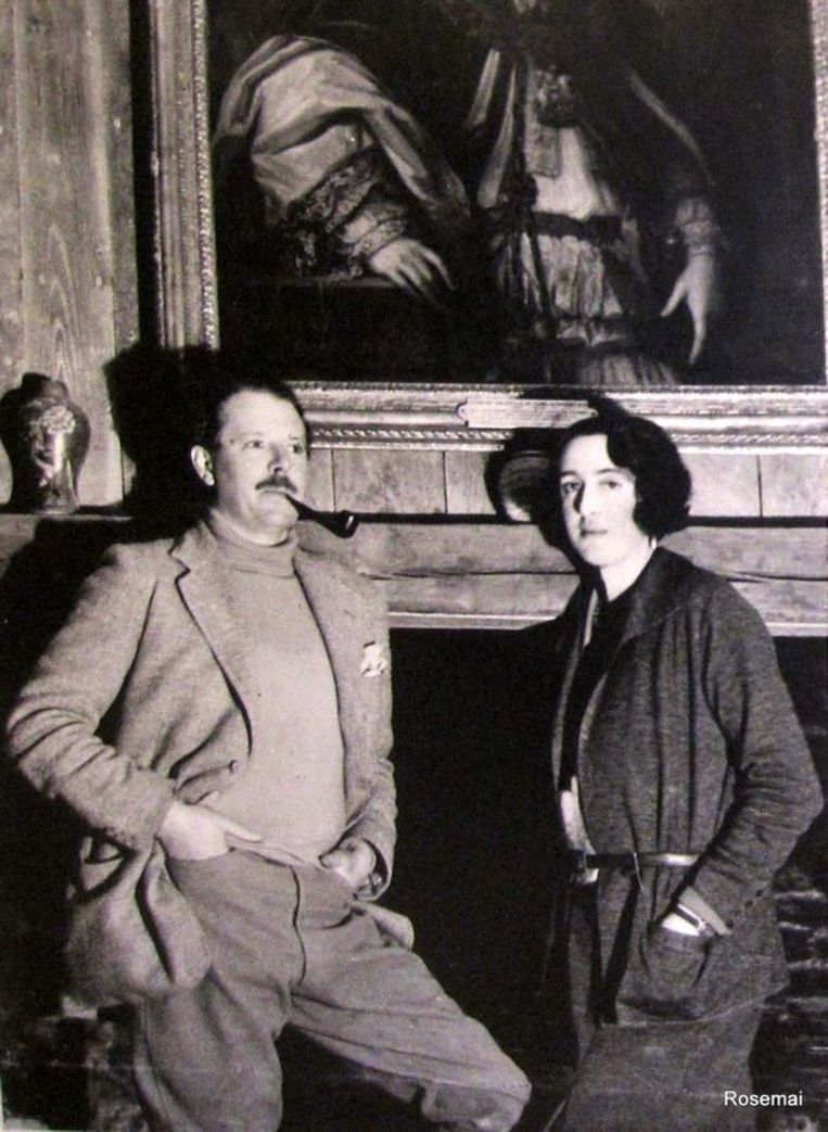 Harold Nicolson en Vita Sackville-West Beeld