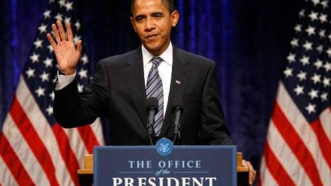 """Obama: """"Economische toestand is dramatisch"""""""