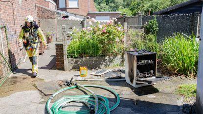 Afwasmachine vliegt in brand bij drankencentrale Gebroeders Leuckx