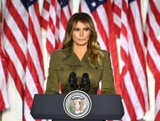 Melania Trump verlaat het Witte Huis als minst populaire first lady in decennia