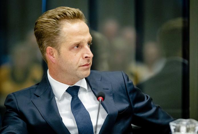 Archieffoto. Hugo de Jonge, minister van Volksgezondheid, Welzijn en Sport, in de Tweede Kamer tijdens het debat over financiële problemen bij diverse jeugdzorginstellingen.