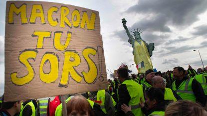 Gele hesjes weer straat op in Frankrijk