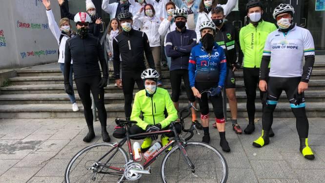 Levensloop verzamelt ondanks afgelasting meer dan achttienduizend euro voor Stichting tegen Kanker. De editie van 2021 zal plaatsvinden in Vorselaar.